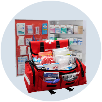 First Aid Cabinets and Safety Kits
