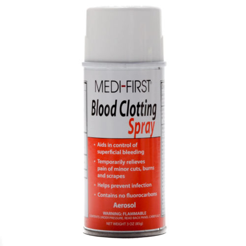 Blood Clotter Liquid Bandage Spray 3 Oz Can