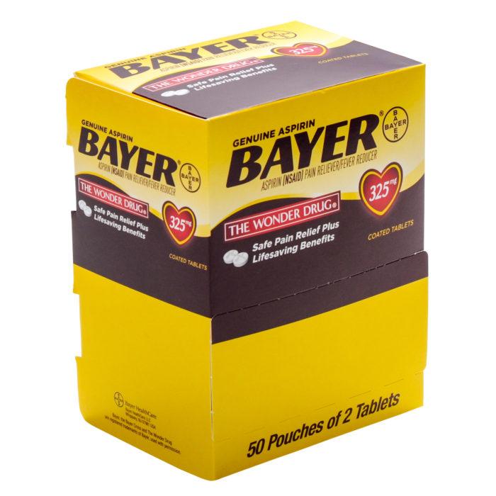 Bayer Aspirin 50 X 2