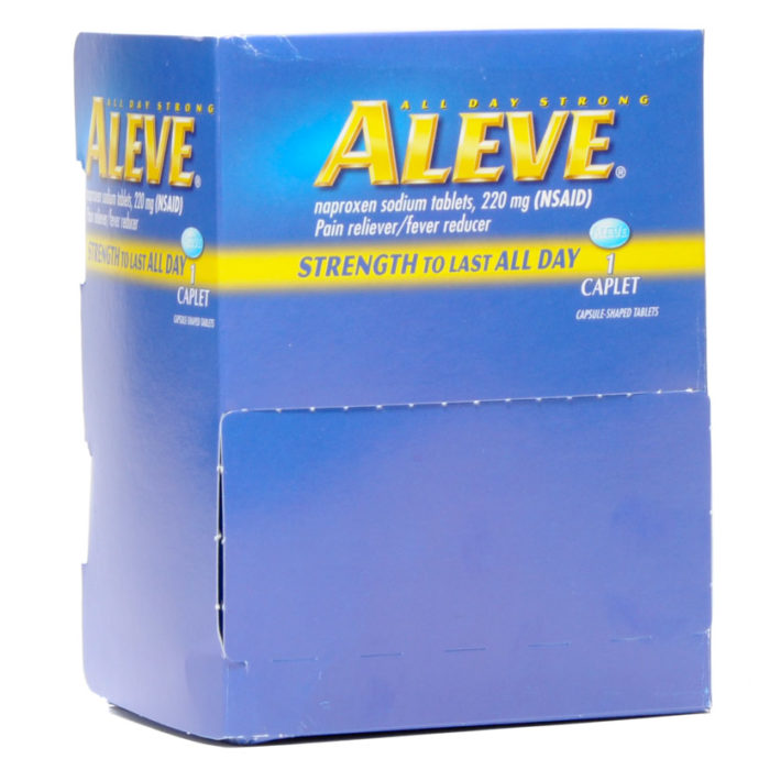 Aleve Pain Reliever 50 X 1