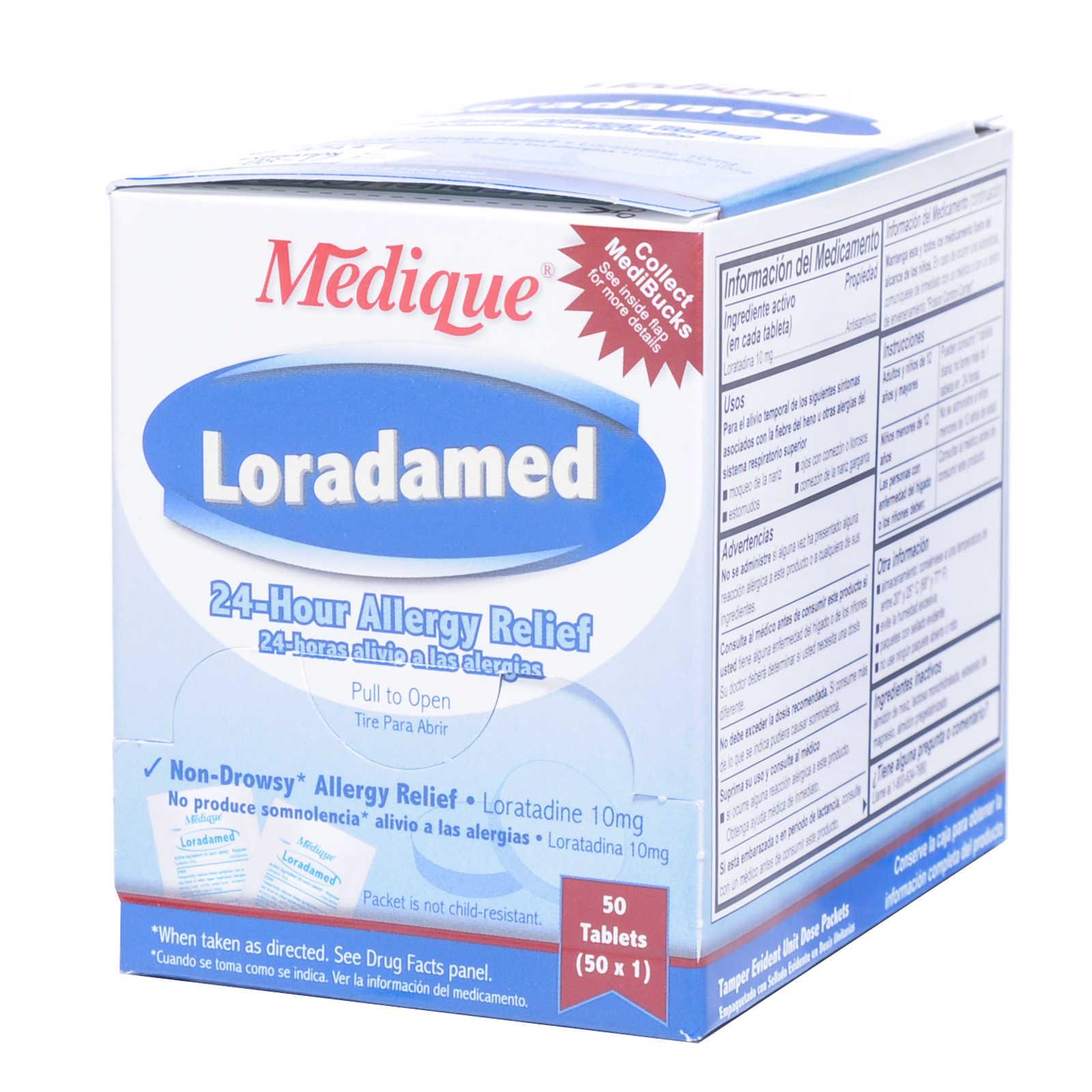 Medique Loradamed Allergy Relief 50x1