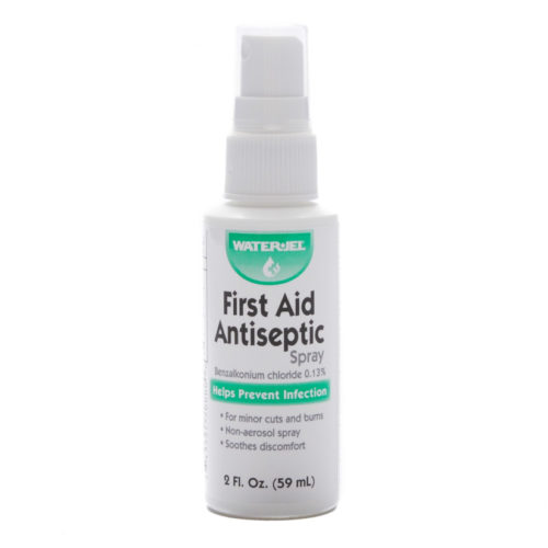 First Aid Antiseptic Spray Waterjel 2 Oz Pump