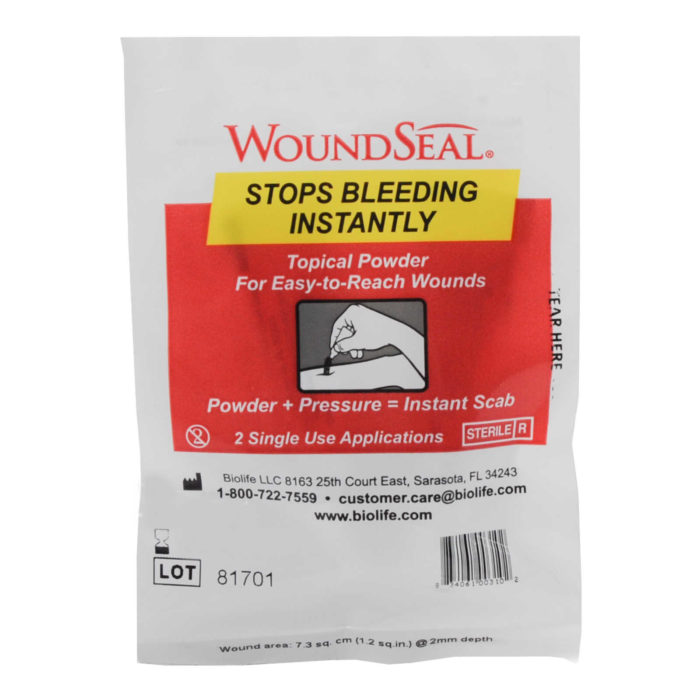 Qr Wound Seal Powder Bandage 2/pkg