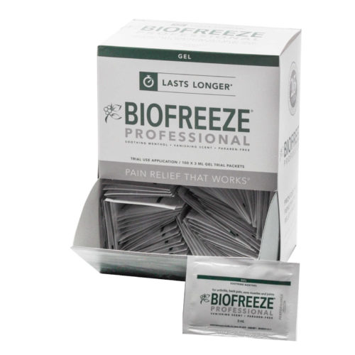Biofreeze Professional Packets (100/Bx)