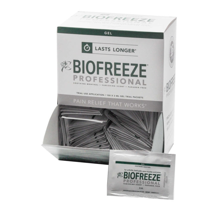 Biofreeze Professional Packets (100/Bx)