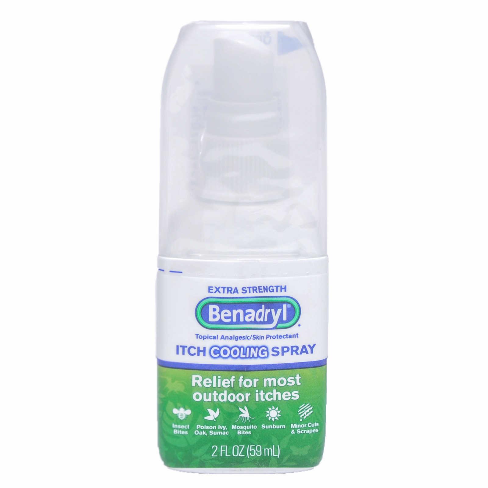 Benadryl Anti Itch Spray Extra Strength 2 Oz