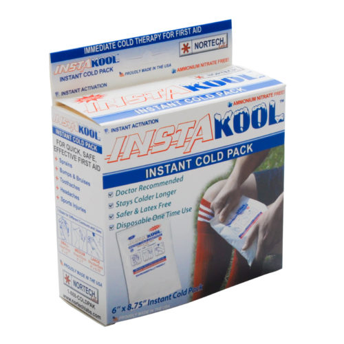 Disposable Instant Cold Pack Unit Boxed Large