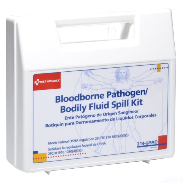 Bloodborne Pathogens/Bodily Fluid Spill Kit by First Aid Only #214U