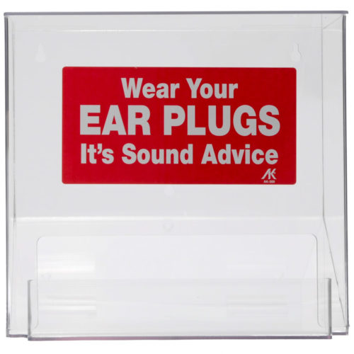 Plastic Arylic Ear Plug Dispenser