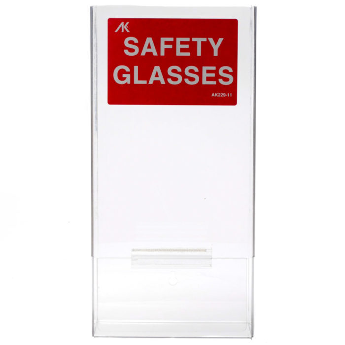 Plastic Acrylic Safety Eye Glass Dispenser