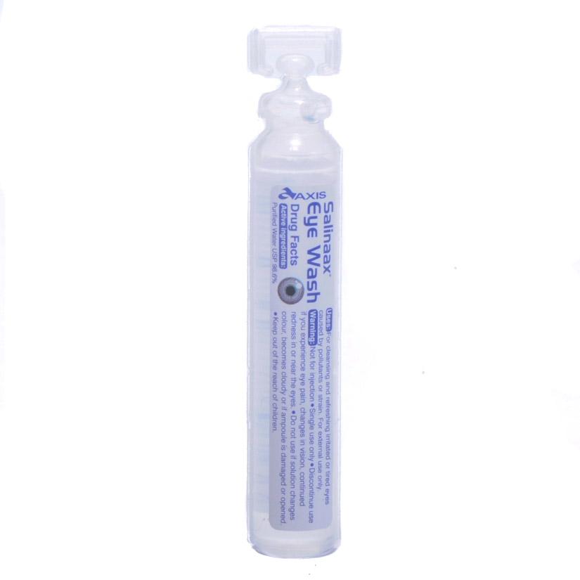 Eye Wash Single Use Bottle