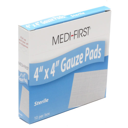 Gauze Pads Sterile Dressings 10/box
