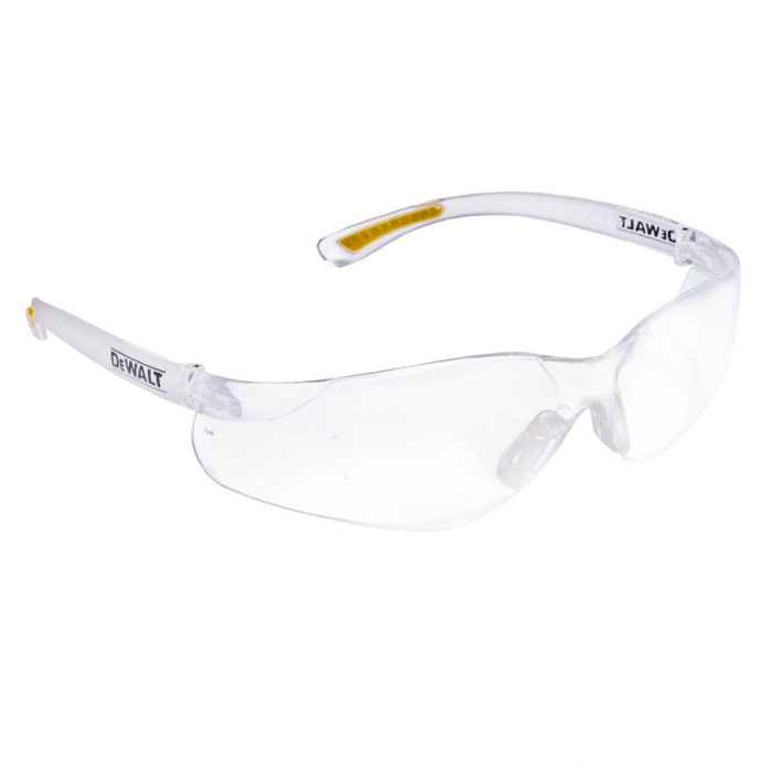 Safety Glasses Dewalt Brand Contractor Pro Clear Lens