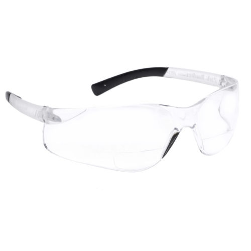 Bifocal Safety Glasses Pyramex Ztek Clear Lens
