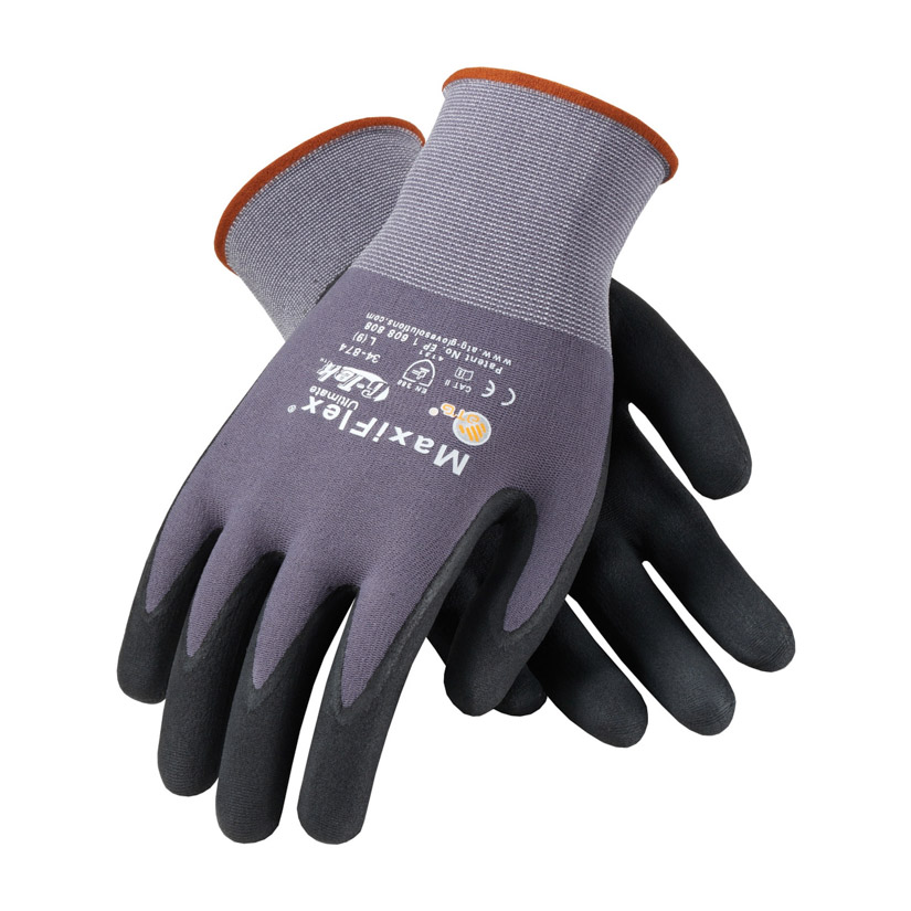 Maxiflex Ultimate Nitrile Coated Gloves Dozen