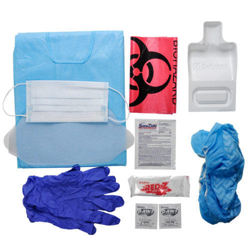 Biohazard Cleanup & Protection Kit Combo