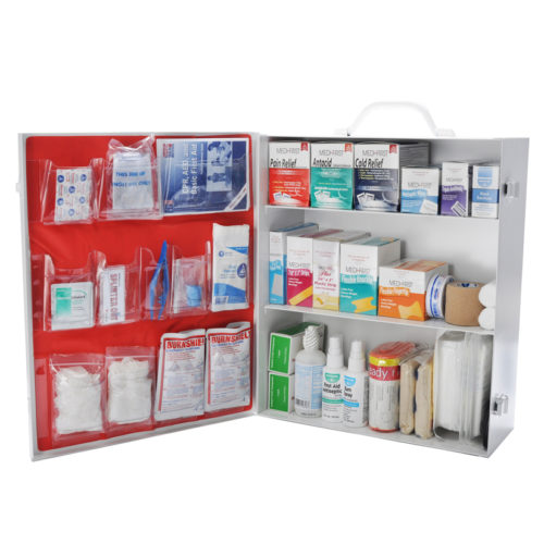First Aid Kit OSHA 3 Shelf With Fill