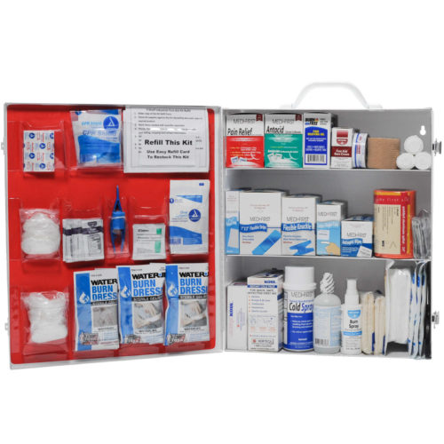 Restaurant First Aid Kit 3 Shelf Complete