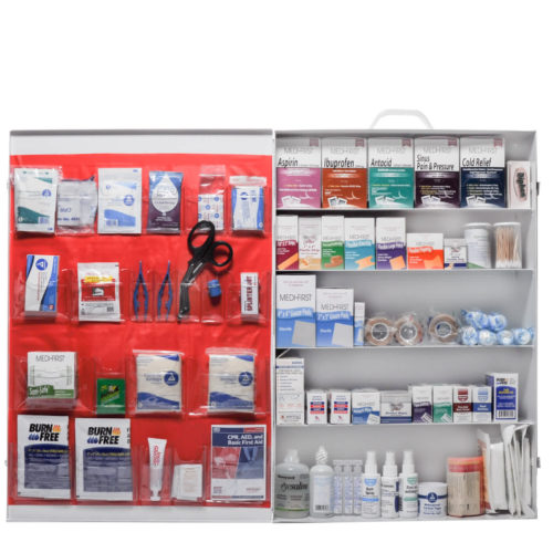 Deluxe 5 Shelf First Aid Kit Complete