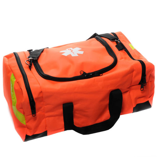EMT First Responder Bag Large Orange Empty