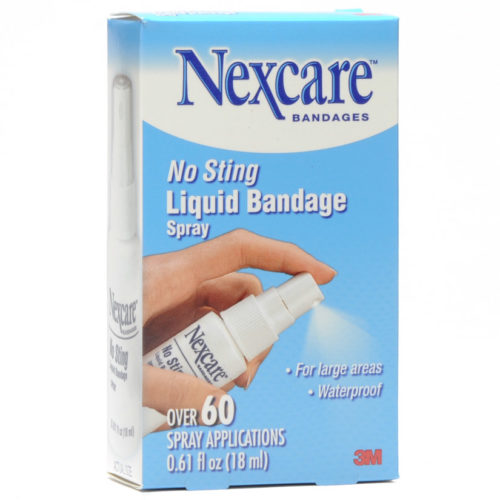 Nexcare Liquid Bandage Spray No Sting .61 Oz Spray