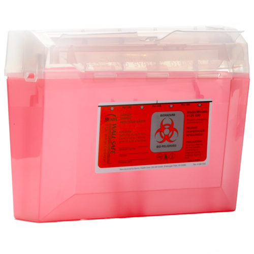 Bemis Biohazard Sharps Container 3 Quart