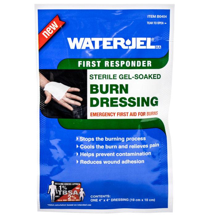 Water Jel Burn Dressing 4x4 Each
