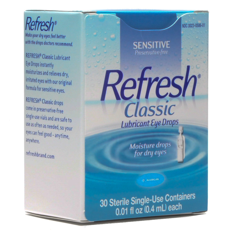 Refresh Eye Drops Individual Dose 30/box