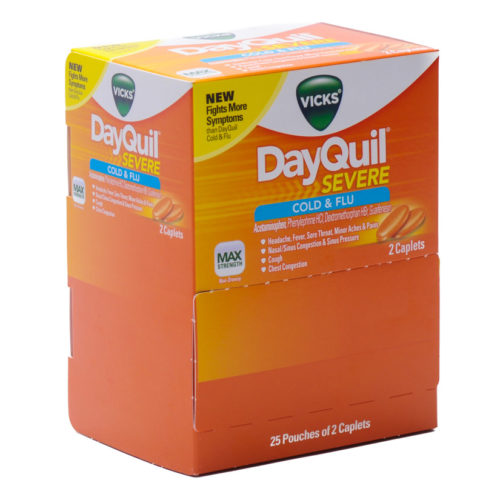 Dayquill Severe 25 Packets Of 2