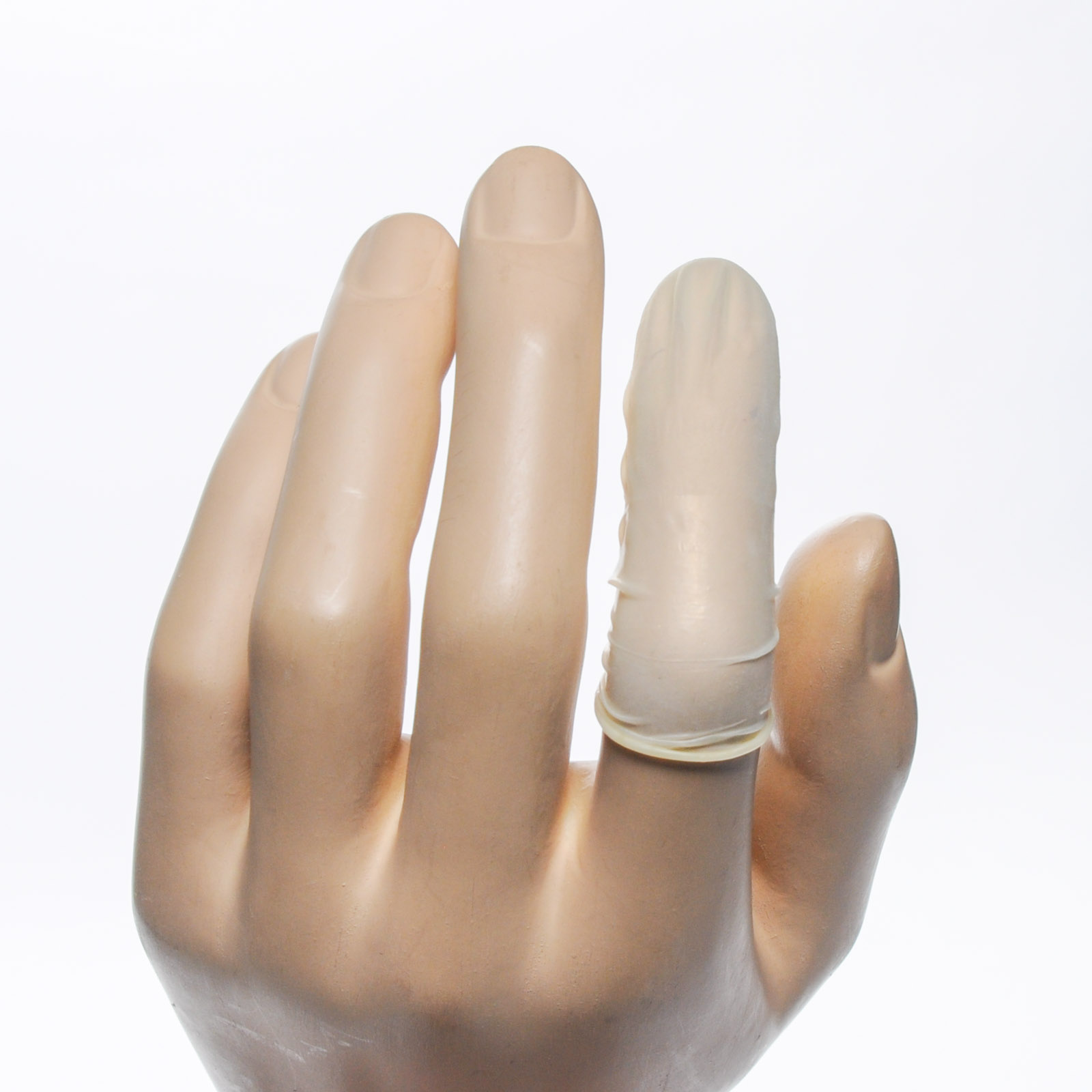 Protective Rolled Latex Tissue Finger Cots 144/box