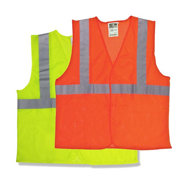 Safety Vest Class 2 Fluorescent Each